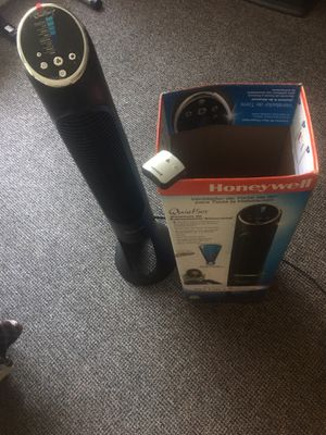 "Honeywell 40"" Whole Room Tower Fan (from Amazon) for Sale in Seattle, WA"
