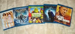 Blue Ray movies 5 total for Sale in Olympia, WA