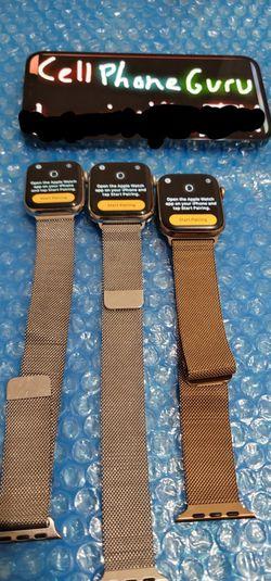 Apple watch milanese 4th 5th gen Cellular LTE for Sale in Phoenix,  AZ