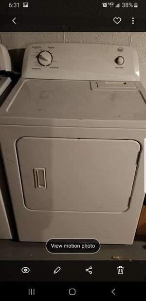 Washer and dryer roper for Sale in Mayfield Heights, OH