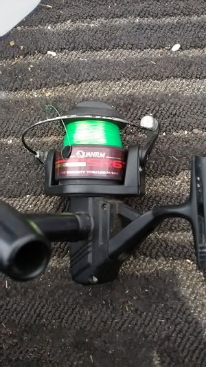 Fishing reels. One is a quantum the other is a master. for Sale in Oceanside, CA