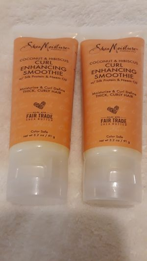 2 Brand New Shea Mositure Curl Enhancing Soothie for Sale in Margate, FL
