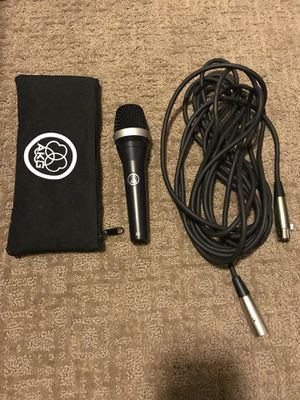 AKG D5 Dynamic Vocal Microphone W/ Cable & Case for Sale in Salt Lake City, UT