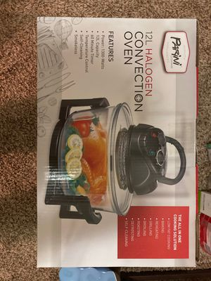 12 L halogen convection oven for Sale in Chevy Chase, MD