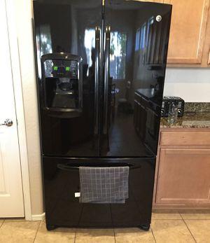 Black GE Refrigerator / Freezer - 3 Door for Sale in Phoenix, AZ
