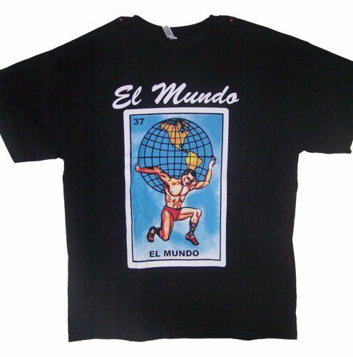 El Mundo Loteria T-Shirts Lottery T-Shirts Mexican T-Shirts ( MxTs310 Z)