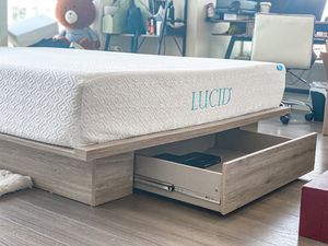 Queen Bed Frame and Mattress Set (can be sold separately) for Sale in San Francisco, CA
