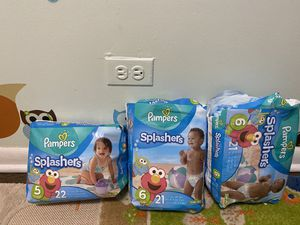 Pampers splashers for Sale in Chicago, IL