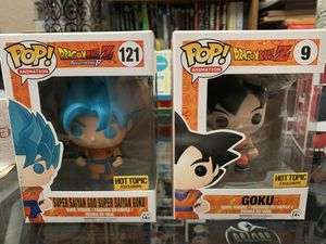 DragonBall Z Funko pop exclusives for Sale in Cedar Park, TX