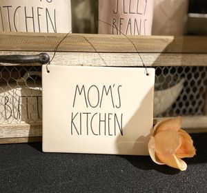 """Rae Dunn """"MOM'S KITCHEN"""" plaque for Sale in Seattle, WA"""