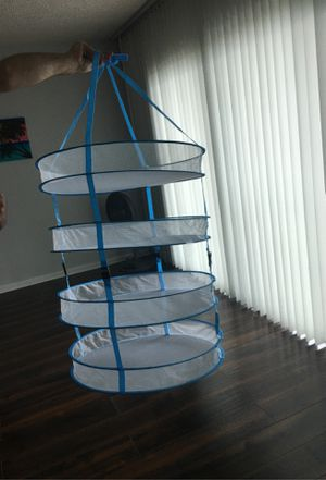 Happy hydro drying rack. Used once for Sale in Treasure Island, FL