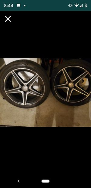 AMG/MERCEDES BENZ / 4 RIMS&TIRES for Sale in Murrieta, CA
