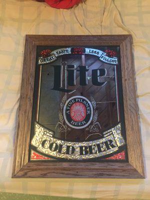 Beer mirror sign for Sale in Eastpointe, MI