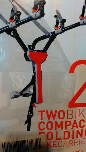 Compact folding bike carrier for 2 bikes for Sale in Henrico, VA