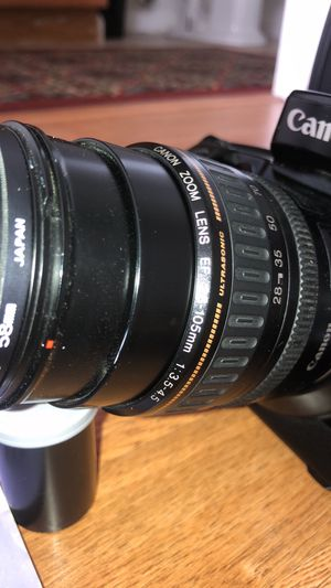 CANON EOS-5 film camera with 28-105 mm lense for Sale in Union City, CA