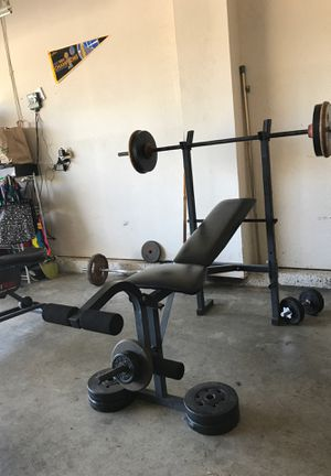 Sturdy weight bench no rips (bench only) for Sale in Tracy, CA