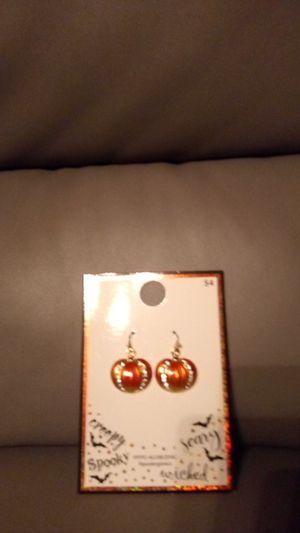 New pumpkin earrings for Sale in Riverside, CA