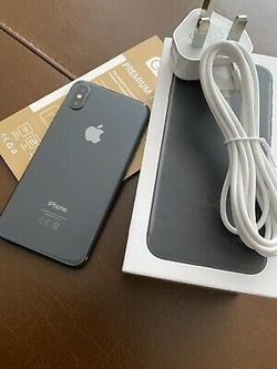 iPhone X, 256GB, Factory Unlocked for, Excellent Condition like New for Sale in Springfield,  VA