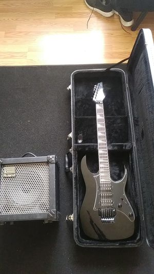 Ibanez gio x roland 20x amp for Sale in Lakewood, WA