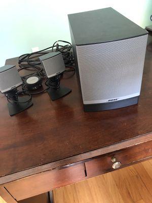 Bose surround sound speakers Companion 3 for Sale in Cranston, RI
