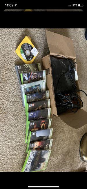 Xbox 360 w/ 11 games for Sale in Brier, WA