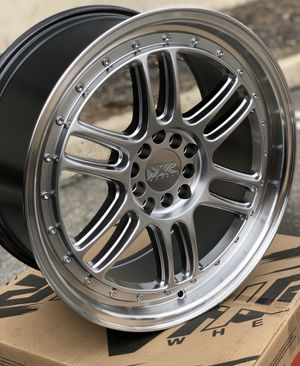 "Brand new 18"" XXR wheels silver polished 5x100 5x114.3 all 4 for Sale in Montebello, CA"
