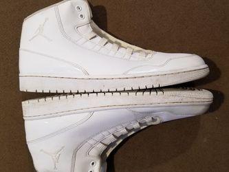 Nike Air Jordan Executive Triple White Off Court Casual Mens 12 for Sale in Lynnwood,  WA