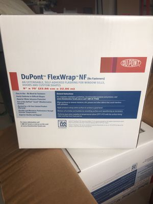 "DuPont FlexWrap NF 9"" x 75' rolls for Sale in Grand Island, NE"