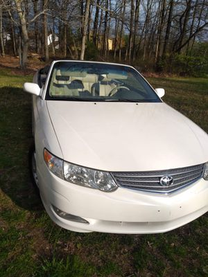 '03 Toyota Solara Convertible for Sale in Suitland, MD