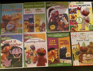 Learning with Elmo collection of 10 DVDs for Sale in Pembroke Park, FL