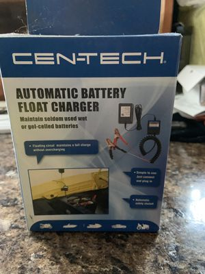New in box Centech automatic battery float charger for Sale in Blue Bell, PA