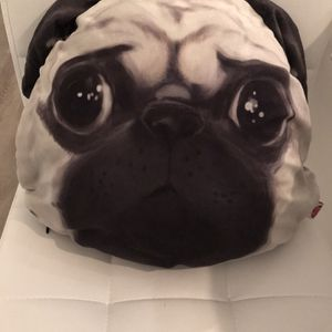Authentic Chinese (round) Pug pillow for Sale in Hollywood, FL