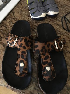 Women's sandals size 8 for Sale in Visalia, CA