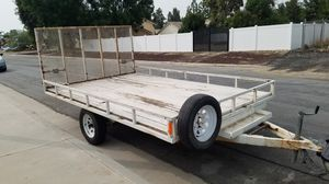 Carson utility trailer 8x13. $1900 Firm for Sale in Corona, CA