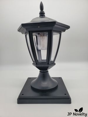 (8 Pcs) NEW-CLEAR Black Solar Hexagon Light - Fence - Post for Sale in Fullerton, CA