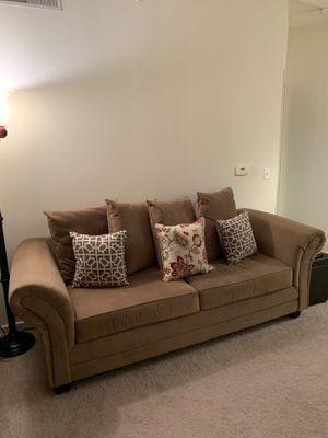 Tan Love Sofa for Immediate Sale! for Sale in Silver Spring, MD