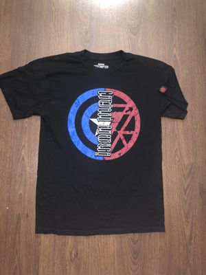 Captain America Iron Man Civil War Marvel Red Chapter T-Shirt Mirror Adult Medium for Sale in Tempe, AZ