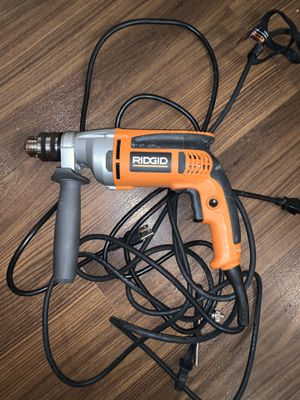 Ridgid Power Drill for Sale in LAKE LINCOLND, NY