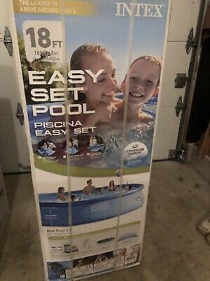 "BRAND NEW Intex 18' x 48"" Easy Set Above Ground Swimming Pool w/ Filter Pump for Sale in San Marcos, CA"