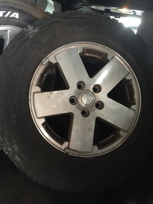 """18"""" Jeep Wrangler Wheels and Tires for Sale in Miami, FL"""