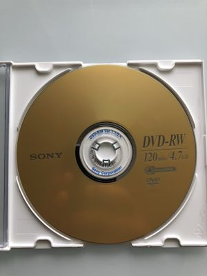 DVD-RW, DVD-R, CD-R for Sale in Cranberry Township, PA