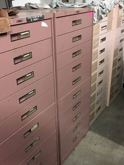 Ross Bassett storage cabinets starting at $50, Five drawers And $100 for 10 drawer cabinet for Sale in Mulberry,  FL