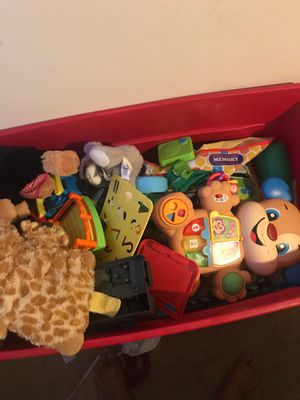 Tote full of toys for Sale in Washington, DC
