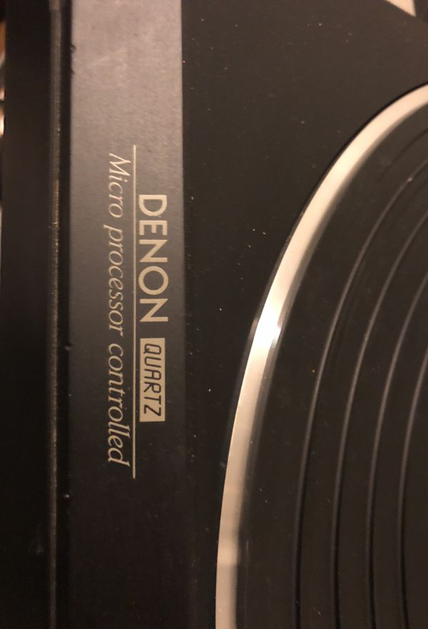 Vintage Denton DP-7F Turntable & Pyle Pro PP444 Ultra-Compact Phono Pre Amplifier (TESTED & CLEANED)