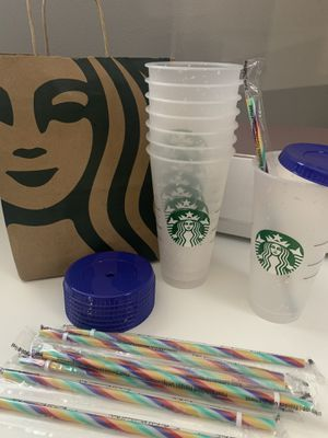 Limited Edition Starbuck Color Changing Confetti Cup for Sale in New Britain, CT
