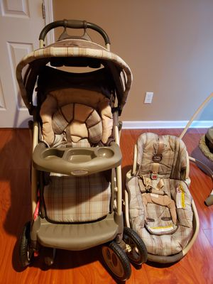Stroller and car seat for Sale in Stone Mountain, GA