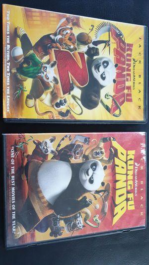 Kids movies, Kun Fu Panda 1 & 2 for Sale in Whittier, CA