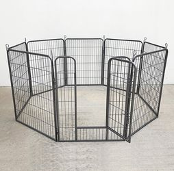 "New in box $110 Heavy Duty 40"" Tall x 32"" Wide x 8-Panel Pet Playpen Dog Crate Kennel Exercise Cage Fence Play Pen for Sale in El Monte,  CA"