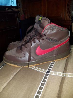 Rare Mens Burberry Nike Dunks. Mens size 13 for Sale in Riverside, CA