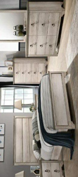 🍃the price is nice🍃Patterson Driftwood Gray Panel Bedroom Set for Sale in Jessup, MD